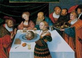 O Banquete de Herodes – Lucas Cranach