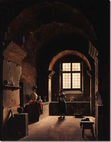 The Alchemist, 1st half of the 19th century, Francois-Marius Granet