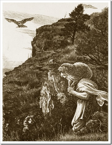 The Lost Sheep, 1864, John Everett Millais
