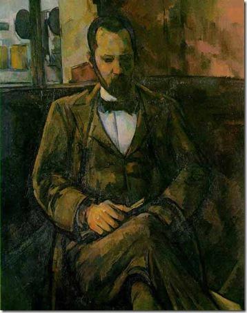 Portrait of Ambroise Vollard, 1899, Paul Cézanne