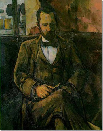 Portrait of Ambroise Vollard, 1899, Paul Cézanne