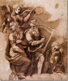 """""""Vitória, Jano, Chronos e Gaia"""" – Giulio Romano"""