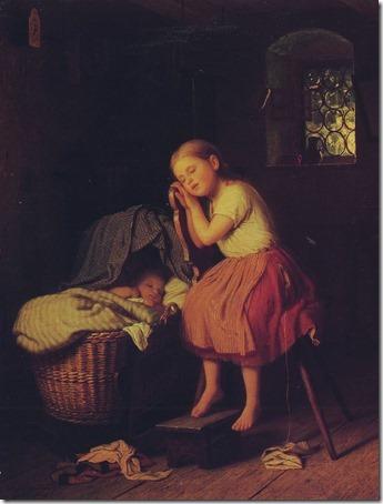 Siesta (Mittagsruhe), 1866, Johann Georg Meyer Von Bremen