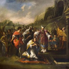A Unção de Saul – Pintura Húngara