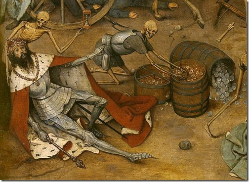 DETAIL: The Triumph of Death (El triunfo de la Muerte / O Triunfo da Morte), ca. 1562,  Pieter Bruegel the Elder