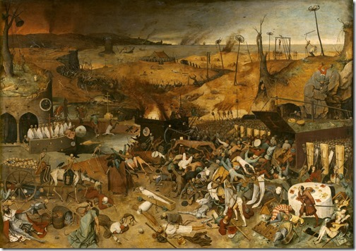 The Triumph of Death (El triunfo de la Muerte / O Triunfo da Morte), ca. 1562,  Pieter Bruegel the Elder