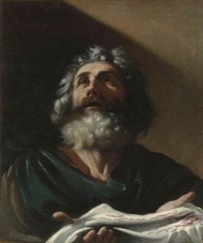 O pranto de Jacó sobre a túnica de José – Círculo de Guercino