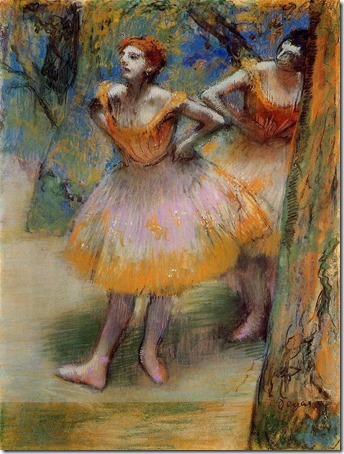 Two Dancers (Duas Bailarinas), ca. 1893–98, Edgar Degas