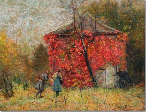 Volta às Trincheiras (Back to the Trenches), ca. 1917, Eliseu Visconti