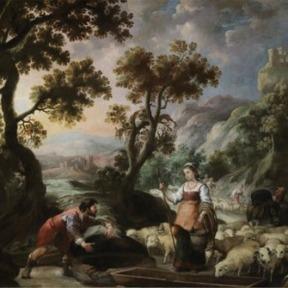 Encontro de Jacó e Raquel Junto ao Poço, Bartolomé Esteban Murillo