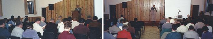 Gilson Santos: I Conferência Fiel em Portugal, 2001
