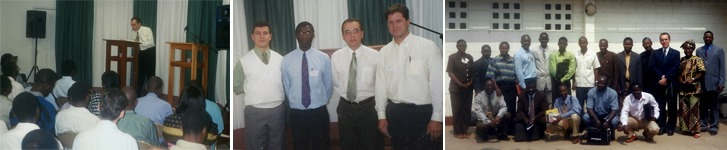 Gilson Santos: Conferência Fiel em Moçambique e Angola, 2004