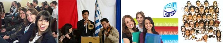 Gilson Santos: Alguns ex-alunos do Ensino Médio na Escola Cristã
