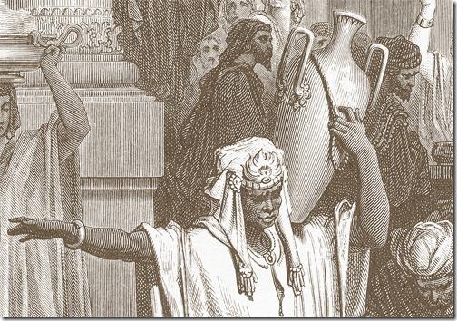 DETAIL: Lazarus outside the Rich Man's House (Lázaro à porta do homem rico), 1866, Antoine-Valérie Bertrand, after Gustave Doré