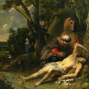 """O Bom Samaritano"", Balthasar van Cortbemde"