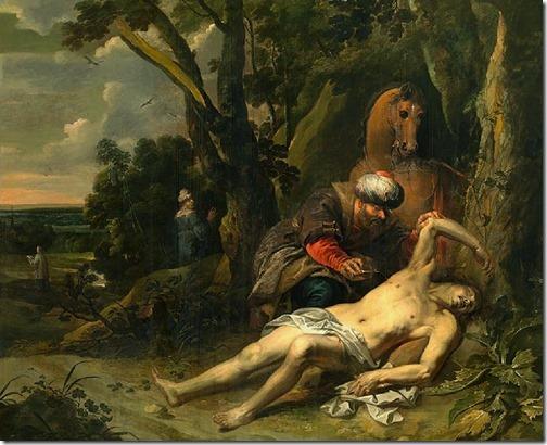 "The Good Samaritan (""O Bom Samaritano""), 1647, Balthasar van Cortbemde"