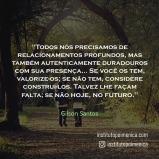 Relacionamentos Duradouros – Gilson Santos