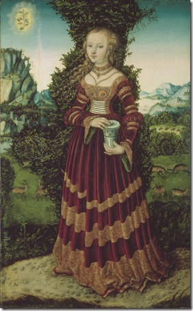 St. Mary Magdalen (Die heilige Maria Magdalena / Maria Madalena), 1525, Lucas Cranach the Elder