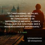 Cristianismo: Moderadamente Importante? – C. S. Lewis