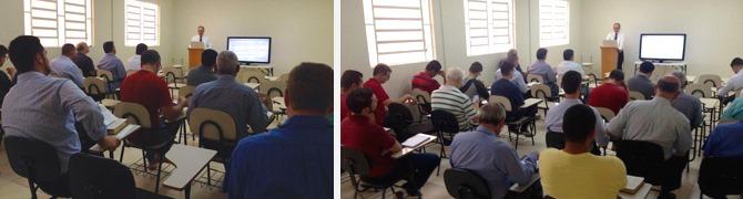 Classe para Homens na Igreja Batista da Graça, São José dos Campos, SP