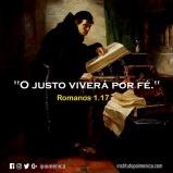"""""""O justo viverá por fé"""""""