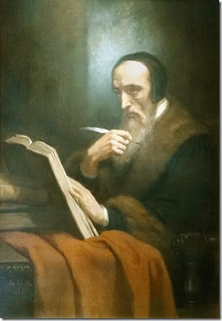 Portrait of Jean Calvin, 1858, Ary Scheffer - Instituto Poimênica