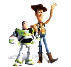 Toy Story 2: Woody e Buzz Lightyear