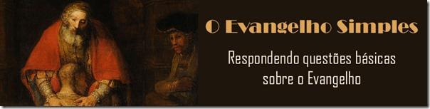 O Evangellho Simples; Respondendo questões básicas sobre o Evangelho