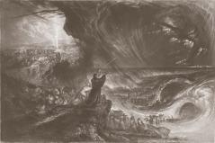 A Destruição do Exército de Faraó – J. C. Armytage e John Martin