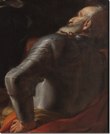 DETAIL: Pilate Washing his Hands, 1663, Mattia Preti