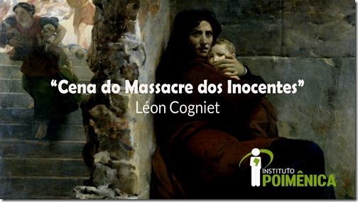 """Cena do Massacre dos Inocentes"""" – Léon Cogniet"""
