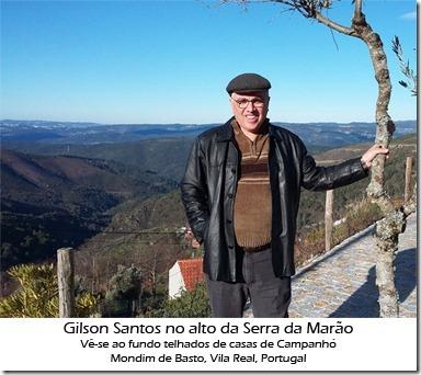 Gilson Santos em Campanhó, Serra do Marão, Portugal