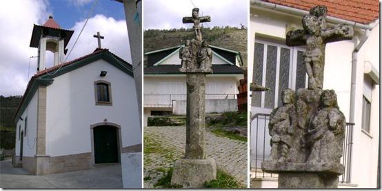 Igreja de Santa Bárbara de Campanhó e Cruzeiro do Senhor dos Aflitos