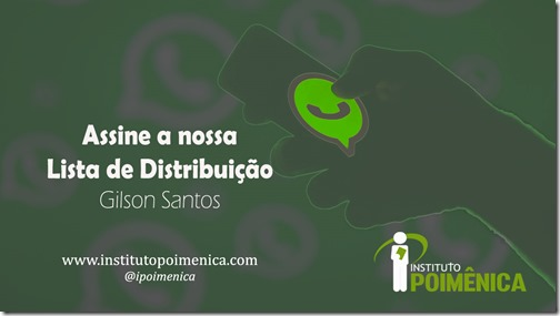 Assine: Lista de Distribuição do Whatsapp