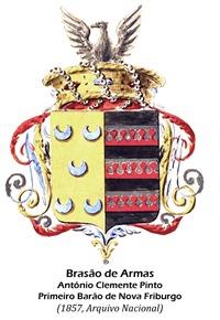 Brasão de Armas, Primeiro Barão de Nova Friburgo