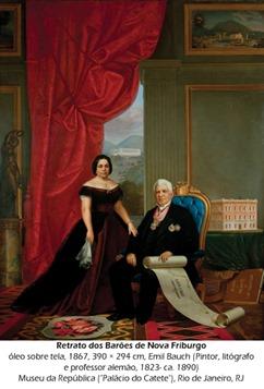Retrato dos Barões de Nova Friburgo, Emil Bauch
