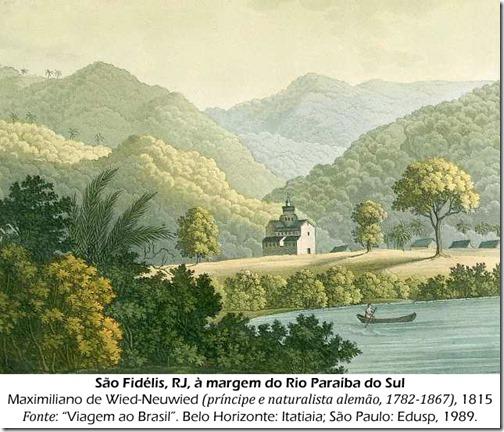 São Fidélis, Maximiliano de Wied Neuwied, 1815