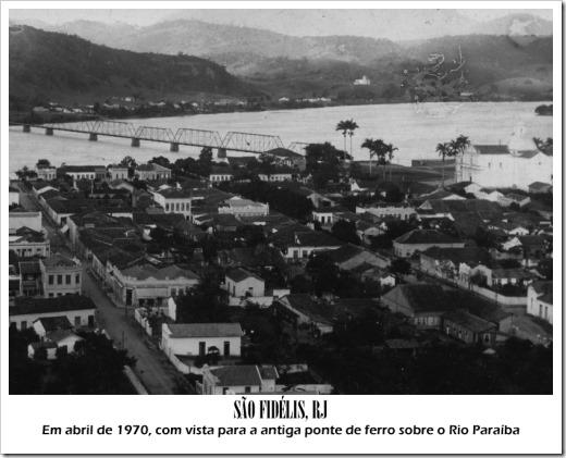 São Fidélis, abril de 1970