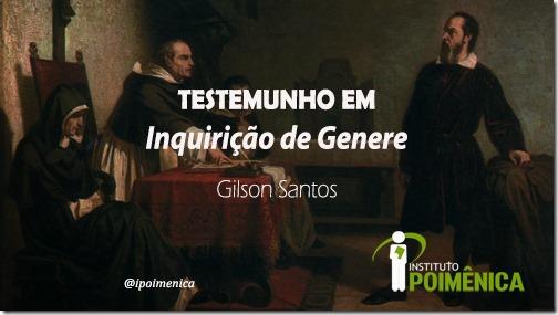 João Gonçalves dos Santos (1815-1891); Testemunha em Processo de Inquirição de Genere